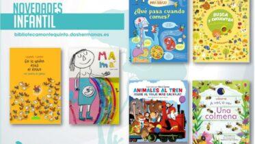 Biblioteca de Montequinto: novedades literarias 2021 - (Infantil - Ficha 2)