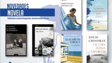 Biblioteca de Montequinto: novedades literarias 2021 - (Novela - Ficha 6)