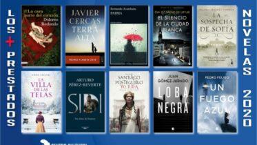 Biblioteca de Montequinto: los + prestados 2020 - (Narrativa ficción - Parte 1 de 2)